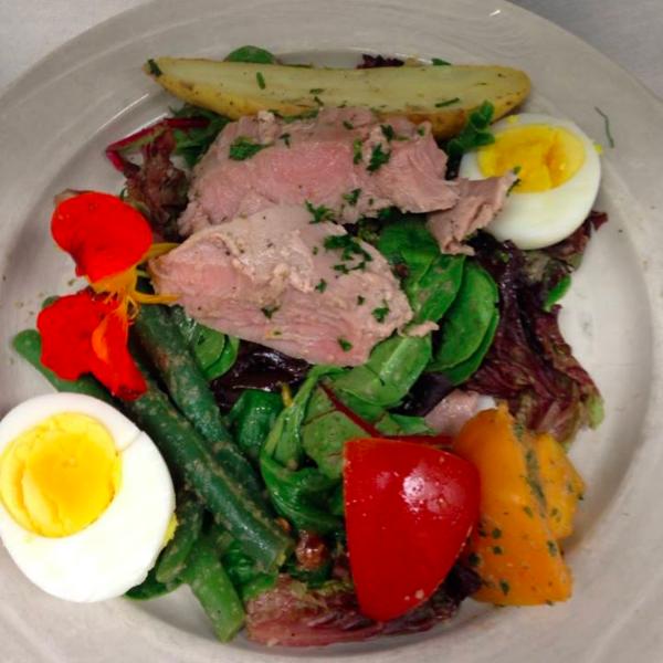 Niçoise Salad on the Reutlinger Menu