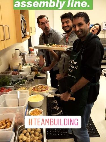 Chowbotics Team Building