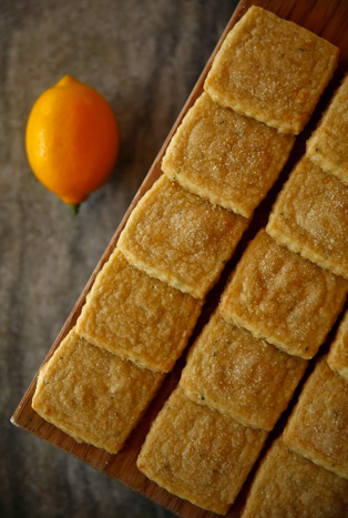 Lemon Shortbread photo courtesy of Press Democrat Christopher Chung