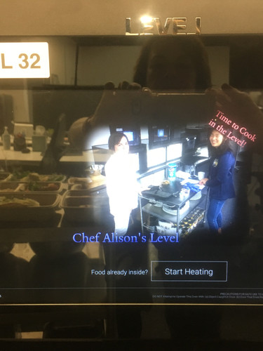 Reflection in the Level Oven