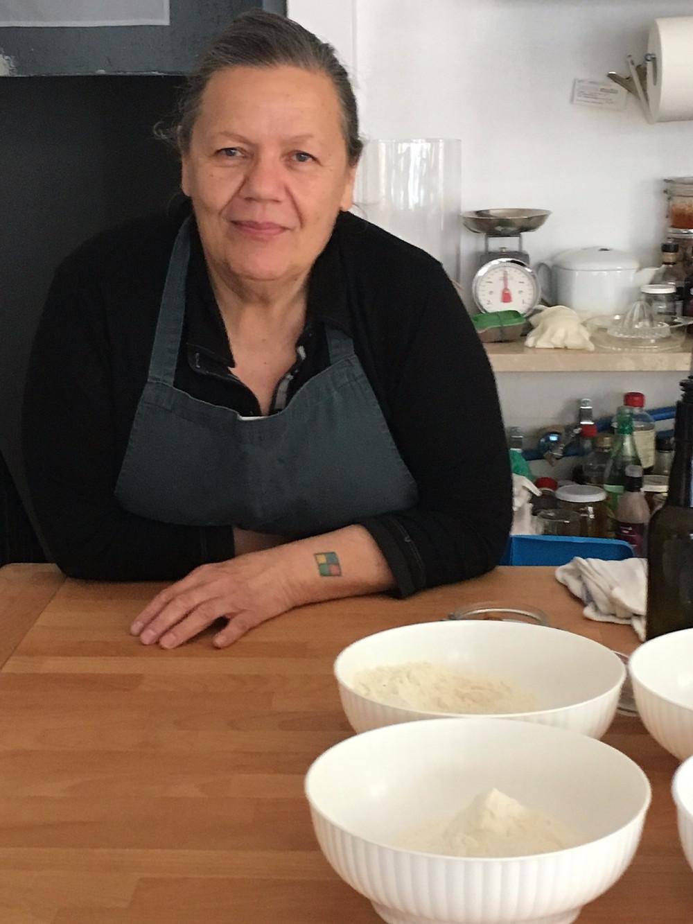 Carla Tomasi, cooking instructor, gardener
