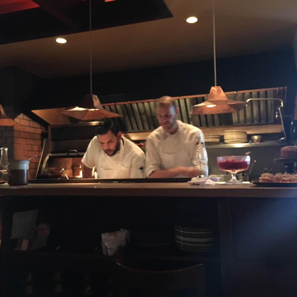 the chefs at Chez Panisse Restaurant
