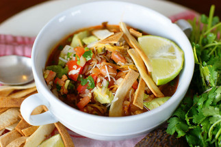 Tortilla Lime Soup with Chicken