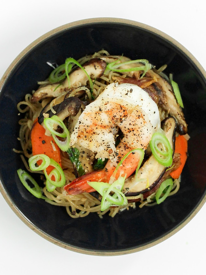 Noodle Bowl cooked in the Level Oven