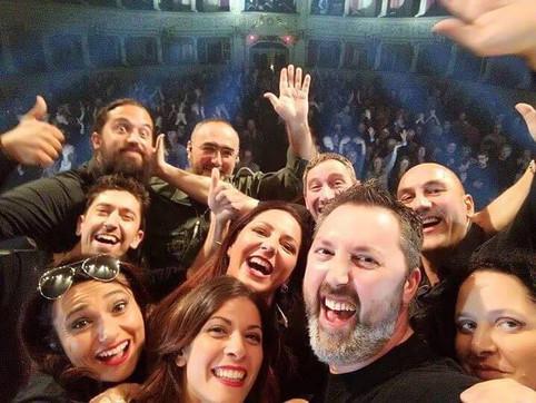 Modena e Como, spettacolo in Teatro