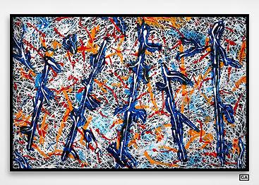 jackson-pollock-peinture-blue-white-pole