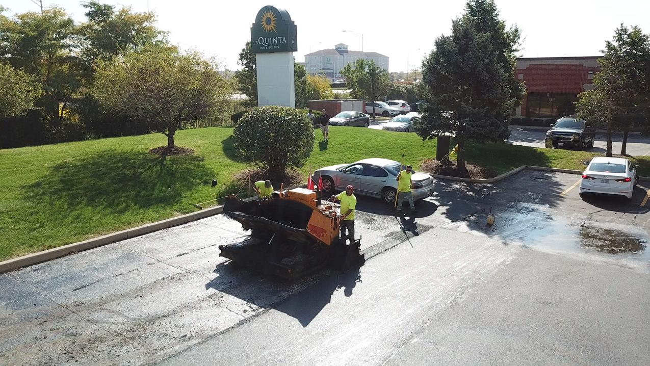 Commerical Parking Lot Paving Asphalt