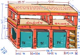 Plan for storage unit