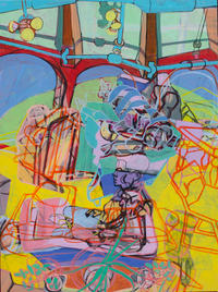 012_Mill Intrerior 6, 31x26x1.75, acrylic on panel, 2018, $2400.jpg