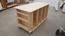 Work Station/Storage Unit