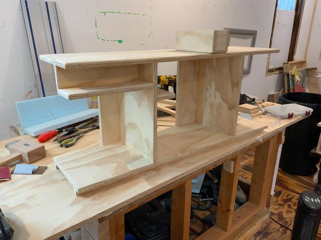 Kitchen Shelf, process