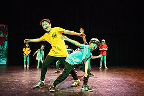 Young Hip-Hop dancers posing