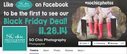 SO Chic Photography Promo Ad Design