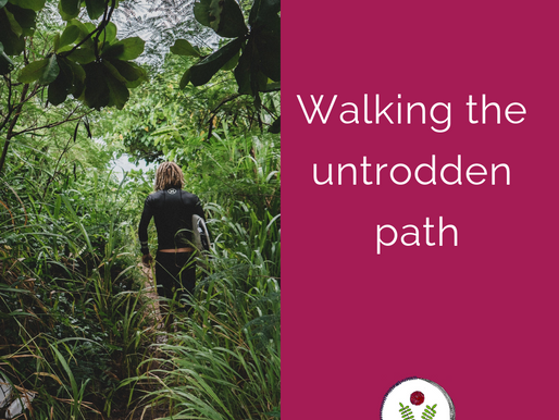 Walking the untrodden path