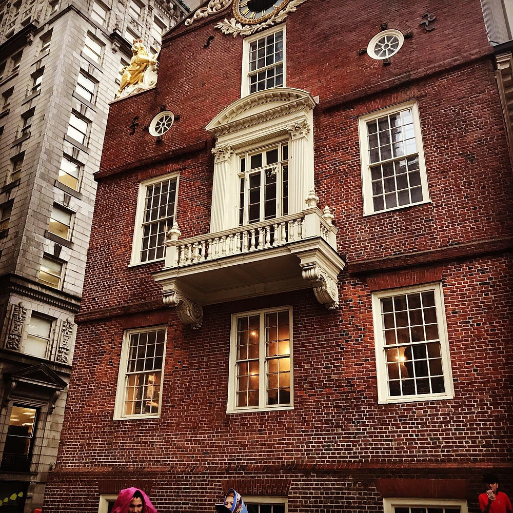 The Old State House, Boston.