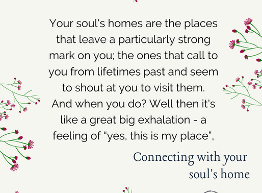 Connecting with your soul's home