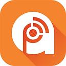 The logo for Podcast Addict