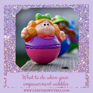 Yes this is a photo of a weeble, because whenever I think of the word 'wobble' those things ALWAYS come to mind!