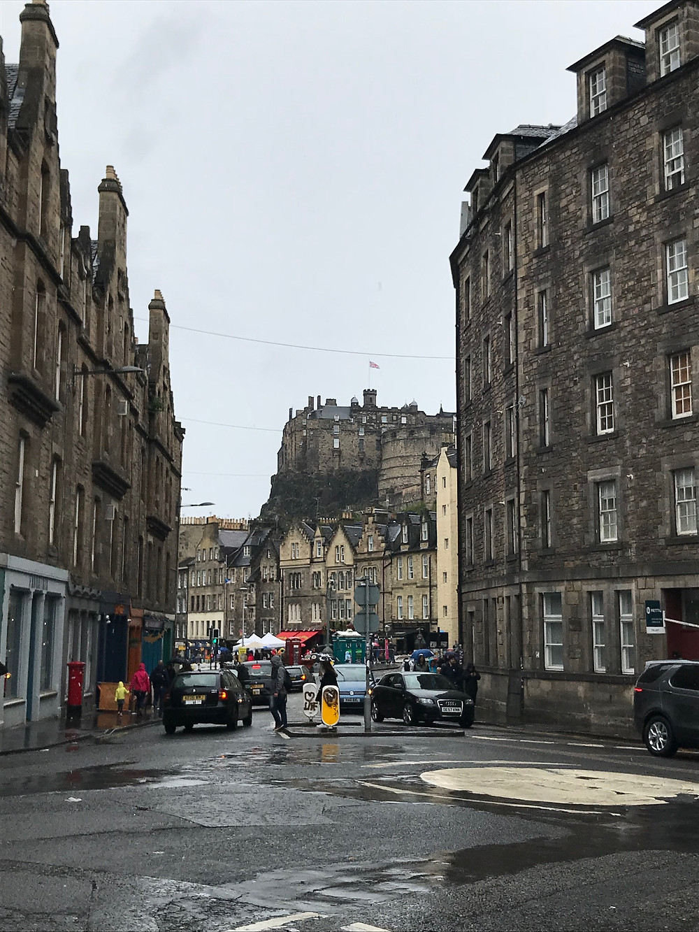 A rainy Edinburgh (and another reason that I'm a counsellor and not a photographer!)