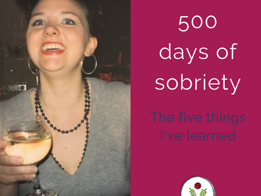 500 days sober: Five lessons I've learned