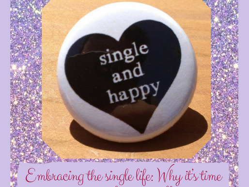 Embracing the single life: Why it's time to complete yourself