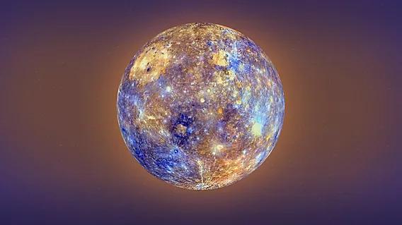 Mercury, photograph courtesy of NASA