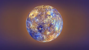 Mercury, photograph courtesy of NASA