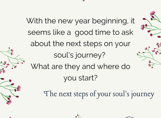 The next steps on your soul's journey