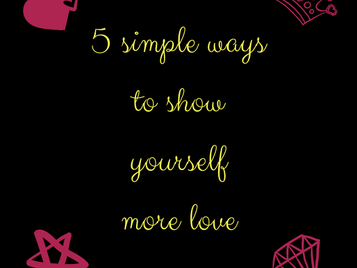 5 ways to show yourself more love