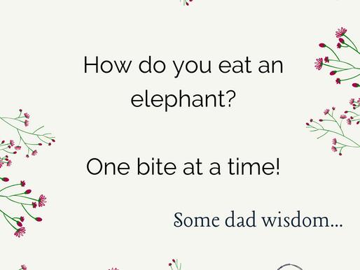 Sharing my dad's wisdom