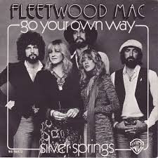 Single cover for Fleetwood Mac's Go Your Own Way. Image taken from medialoper.com and courtesy of Fleetwood Mac