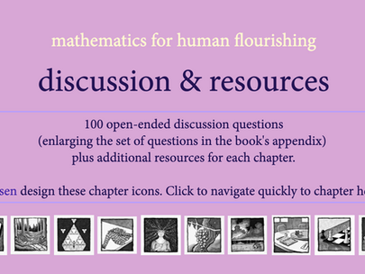 100 Questions about Mathematics for Discussion and Reflection