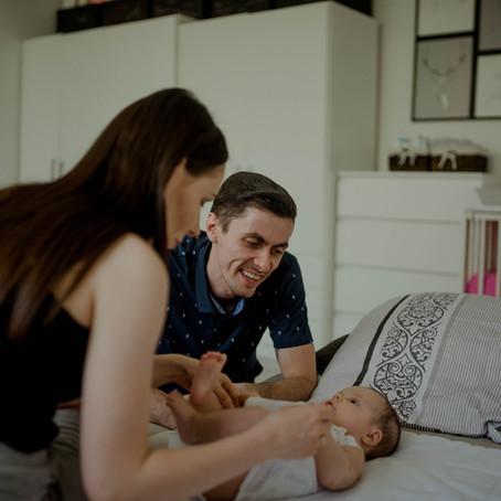 Agata, Sergiusz i Oliwka | Sesja niemowlęca lifestyle