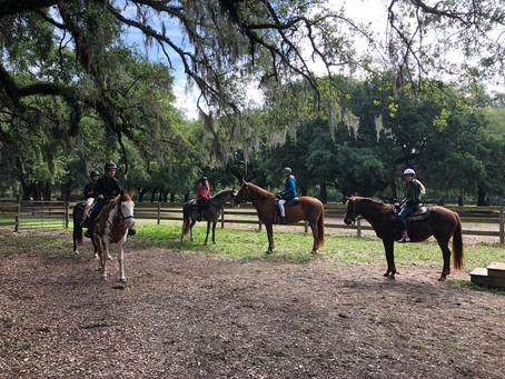 Adolescent Horseback Riding Excursion