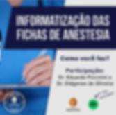 Podcast Informatização das fichas de anestesia