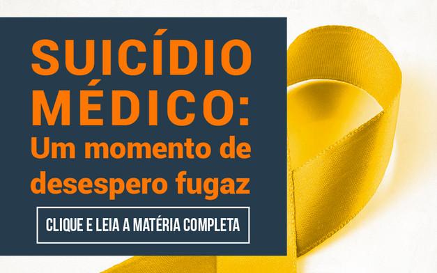 Suicídio médico: um momento de desespero fugaz