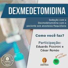 PODCAST Dexmedetomidina