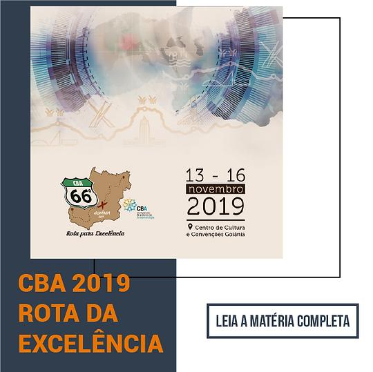 Blog CBA 2019 ROTA DA EXCELÊNCIA
