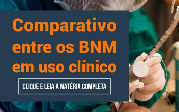 Comparativo entre os BNM em uso clínico