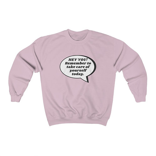 """TAKE CARE OF YOURSELF"" - Unisex Heavy Blend™ Crewneck Sweatshirt"