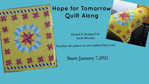Welcome to the Hope for Tomorrow Quilt Along!