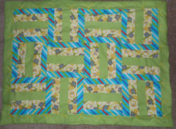 Turtle Tummy Time Quilt