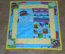 Thomas the Tank Baby Quilt
