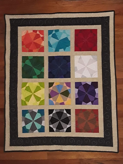 Tribes of Israel Quilt Pattern