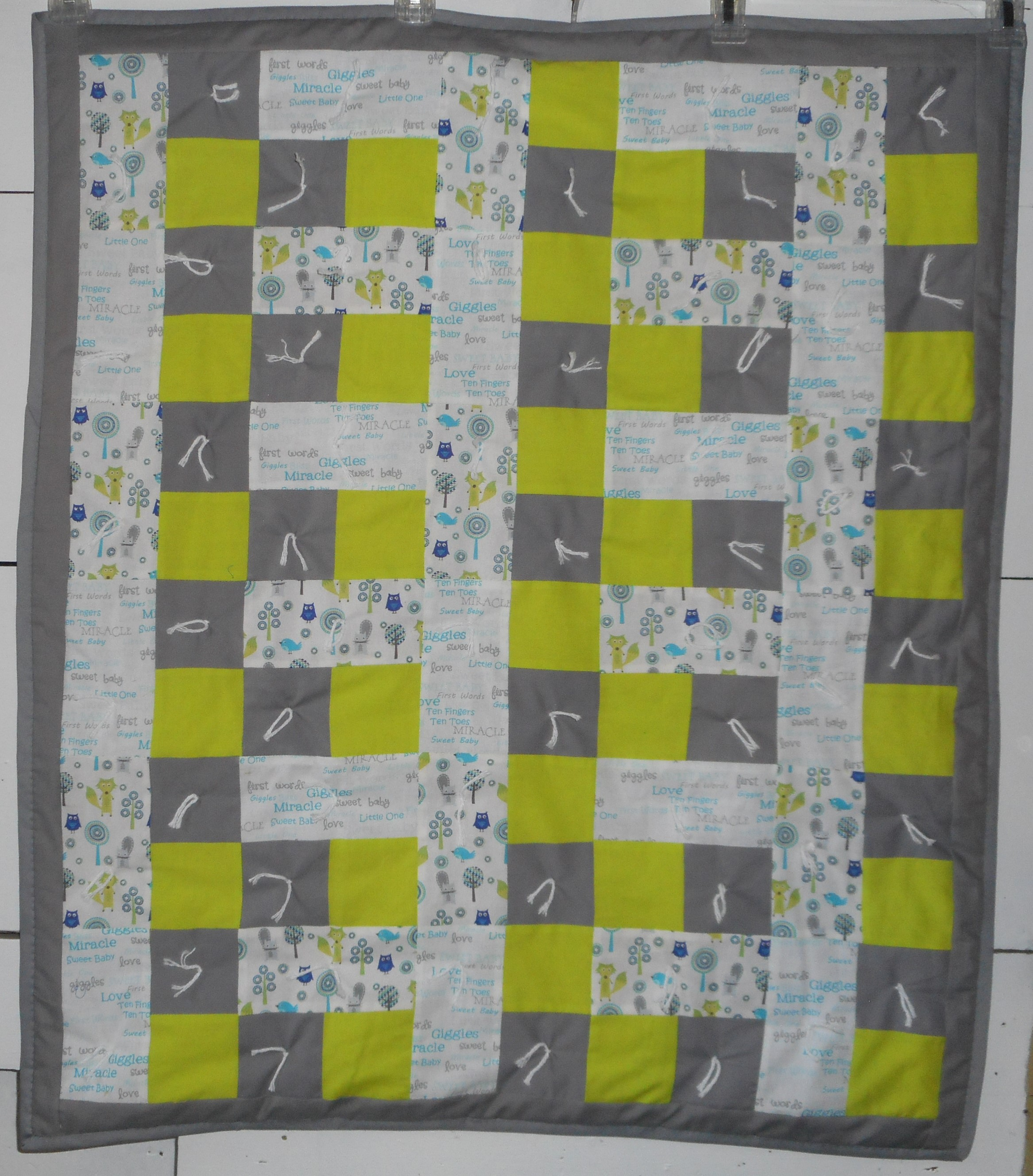 Love & Giggles Baby Quilt