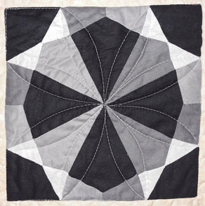 Tribes of Israel Quilt: Onyx