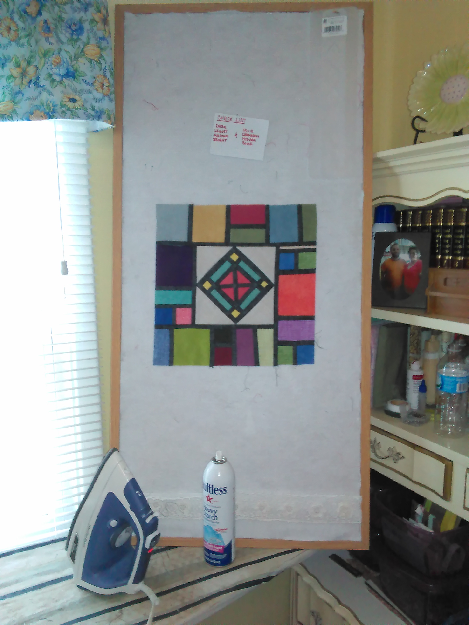 Stained Glass Wall Quilt