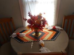 Fall Frenzy Table Runner