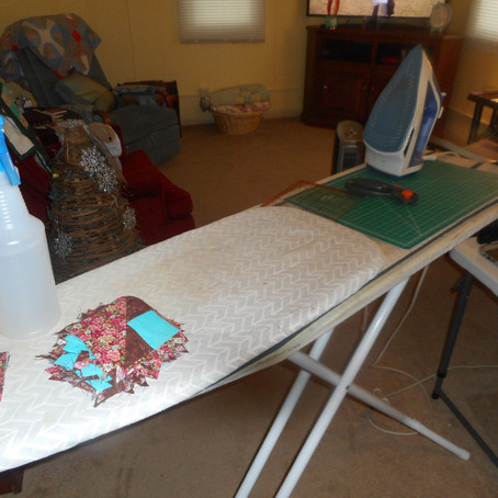 Mystery Quilt: Continuing Sage II