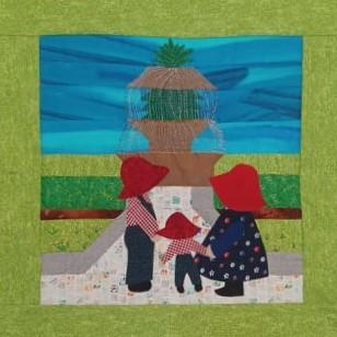 Family Trip to Pineapple Fountain